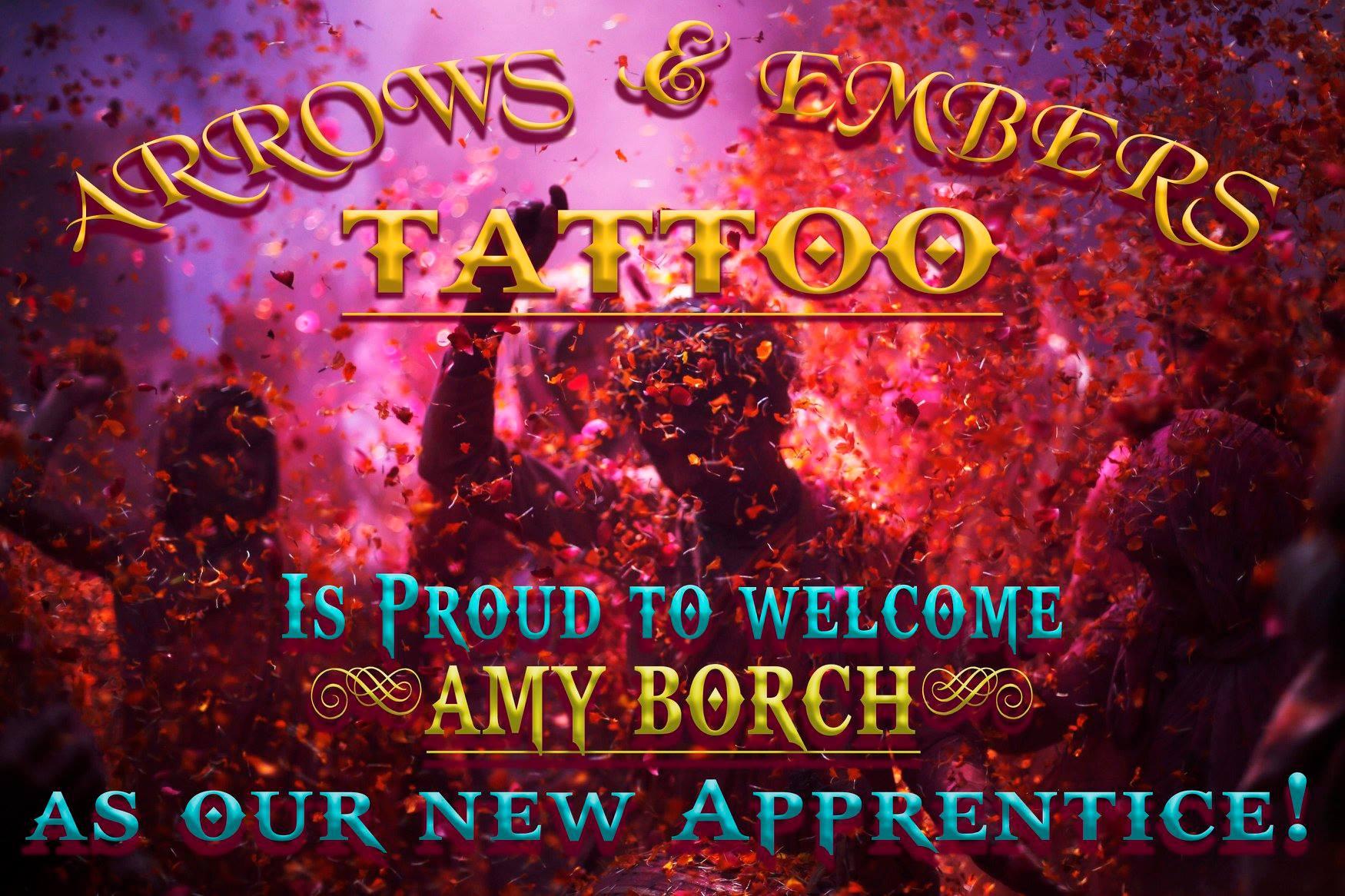 Amy Borch Tattoo Artist Apprentice