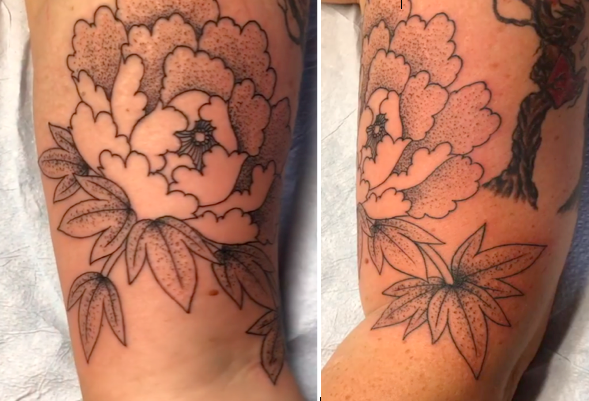 Will Self NH Tattoo Artist Boston Concord Worcester MA Trad Traditional Tattoos Neo-trad NeoTraditional neo-traditional amazing best tattoo artist New England Old School Japanese Americana American Tattooing Style flowers floral