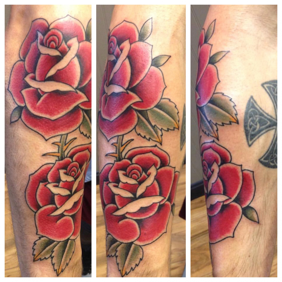 Will Self NH Tattoo Artist Boston Concord Worcester MA Trad Traditional Tattoos Neo-trad NeoTraditional neo-traditional amazing best tattoo artist New England Old School Japanese Americana American Tattooing Style roses