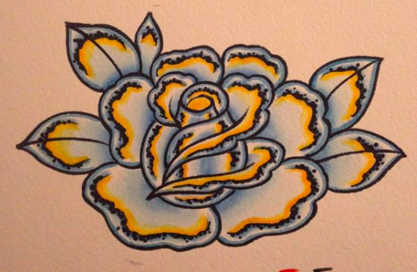 Will Self NH Tattoo Artist Boston Concord Worcester MA Trad Traditional Tattoos Neo-trad NeoTraditional neo-traditional amazing best tattoo artist New England Old School Japanese Americana American Tattooing Style chrome rose