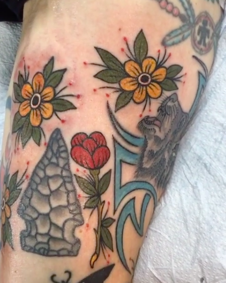Will Self NH Tattoo Artist Boston Concord Worcester MA Trad Traditional Tattoos Neo-trad NeoTraditional neo-traditional amazing best tattoo artist New England Old School Japanese Americana American Tattooing Style stars filler