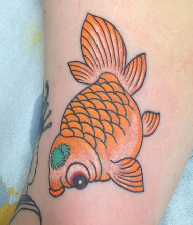 Will Self NH Tattoo Artist Boston Concord Worcester MA Trad Traditional Tattoos Neo-trad NeoTraditional neo-traditional amazing best tattoo artist New England Old School Japanese Americana American Tattooing Style goldfish koifish koi fish