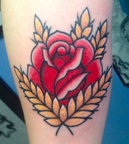 Will Self NH Tattoo Artist Boston Concord Worcester MA Trad Traditional Tattoos Neo-trad NeoTraditional neo-traditional amazing best tattoo artist New England Old School Japanese Americana American Tattooing Style rose gold